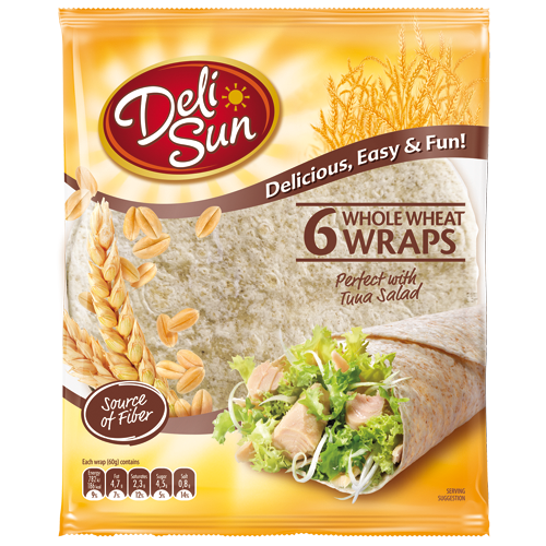 Delisun tortilla Wraps integrales 360g